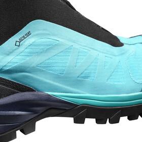 Salomon Outpath Pro GTX Chaussures de randonnée Femme, blue bird/navy blazer/black
